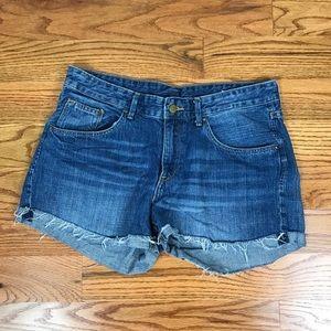 Mossimo Denim Boyfriend Shorts